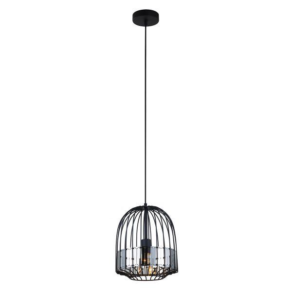 Lampy oświetlenie - ARIES MDM-2724/1L B BK Italux